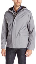 Kenneth Cole New York Men's Hooded Softshell Jacket