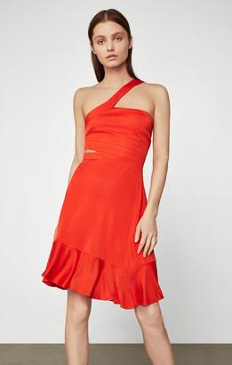 BCBGMAXAZRIA Cutout Swing Dress