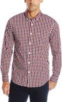 Dockers Long Sleeve Gingham Comfort Stretch Woven Shirt