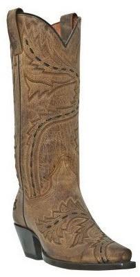 Dan Post Leather Cowboy Boots - Sidewinder