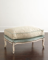Old Hickory Tannery Misty Bergere Ottoman