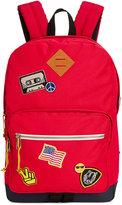 Steve Madden Men's Patchwork Classic Backpack