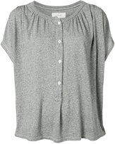 The Great henley blouse - women - Cotton/Rayon/Polyester - 0