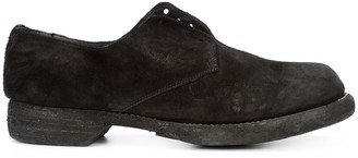 Guidi Chunky Slip-On Derby Shoes