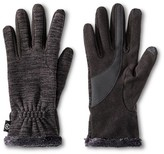 Isotoner Impressions By Women's Space Gloves - Black
