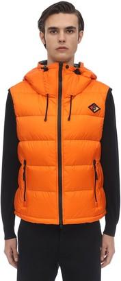 Burberry Hooded Nylon Down Vest