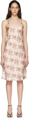 Paco Rabanne Beige Printed Dress