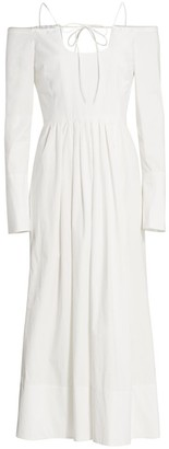 By Any Other Name Pastoral Spaghetti Strap Midi Dress