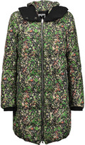 M Missoni Printed shell down hooded coat