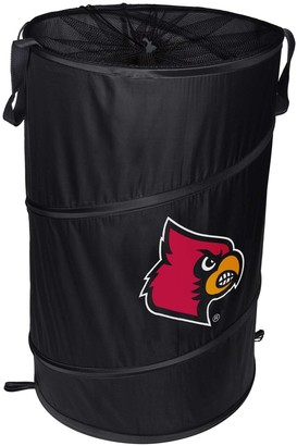 Louisville Cardinals Cylinder Pop Up Hamper