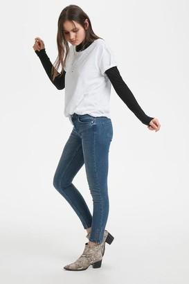 Denim Hunter - White Organic Cotton T Shirt - S