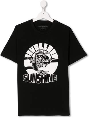 Stella McCartney TEEN Hello Sunshine print t-shirt