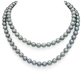 DaVonna Grey Freshwater Pearl Endless Necklace, 48-inch