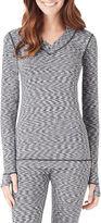 Cuddl Duds Flex Fit Long-Sleeve V-Neck Shirt