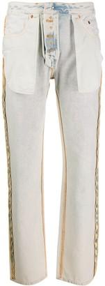 MM6 MAISON MARGIELA inside-out jeans