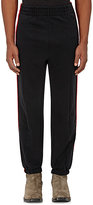 Vetements Men's Side-Striped French Terry Sweatpants-BLACK