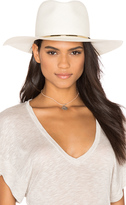 Janessa Leone Begonia Wide Brimmed Panama Hat