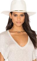 Janessa Leone Begonia Wide Brimmed Panama Hat