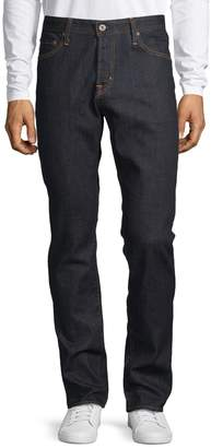 AG Jeans Straight Leg Slim-Fit Jeans