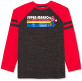 Nintendo Super Mario-Print Shirt, Big Boys (8-20)