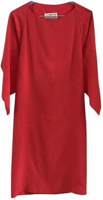 Maison Margiela Red Silk Dresses