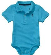 Carter's Short-sleeve Polo Bodysuit