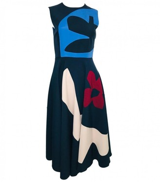 Roksanda Ilincic Navy Polyester Dresses