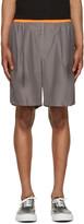 Kolor Grey Poplin Shorts