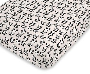 NoJo Playful Panda Fitted Crib Sheet Bedding