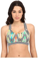 Trina Turk Neon Lights Sports Bra