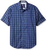 Robert Graham Men's Tall Size Campfire S/s Classic Fit Shirt