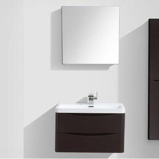 "Trent Austin Design Blondene 30"" Single Bathroom Vanity Set Trent Austin Design Base Finish: Chest-nut"