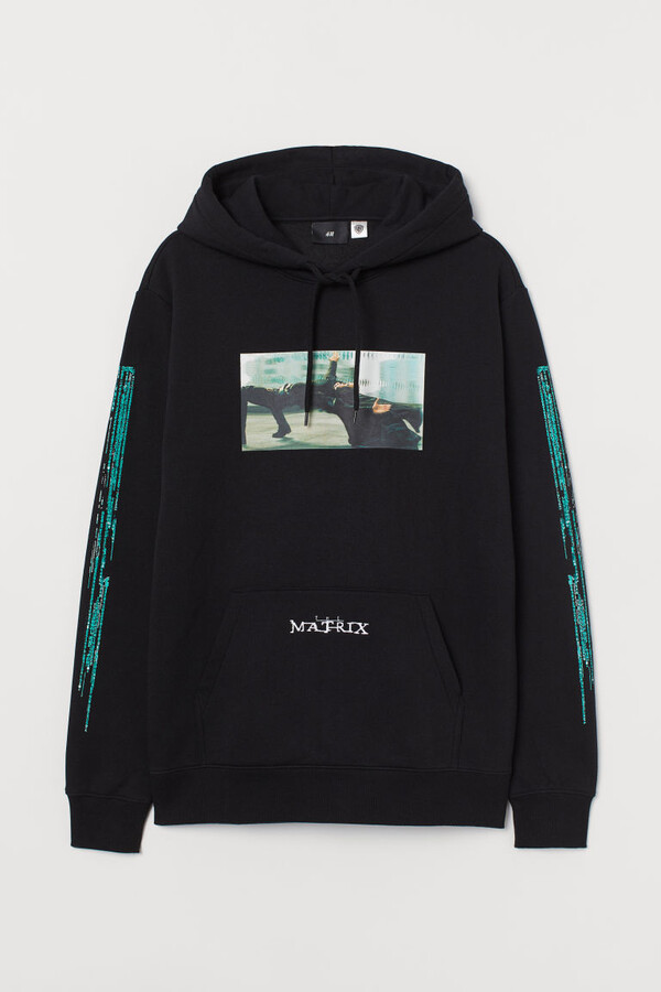 Thumbnail for your product : H&M Regular Fit Hoodie - Black