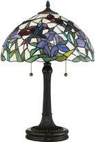 Quoizel Hummingbird Table Lamp in Vintage Bronze