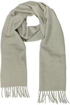 Lanvin Solid Wool Fringed Men's Scarf