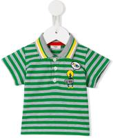 Fendi striped polo shirt - kids - Cotton - 9 mth