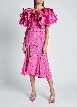 Rotate by Birger Christensen Carmen Dress