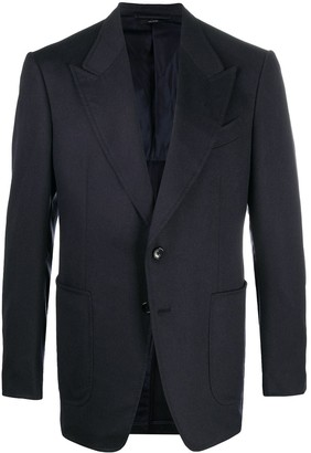 Tom Ford Single-Breasted Cashmere Blazer