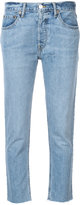 RE/DONE cropped jeans - women - Cotton - 25
