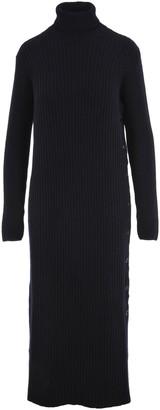 Marni Ribbed Turtleneck Maxi Dress