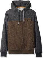 Billabong Men's Balance Halfzip Fleece Pullover Hoody with Chest Pocket