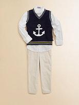 Hartstrings Toddler's & Little Boy's Button-Down Oxford Shirt