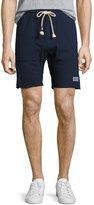 Sol Angeles Waves Cutoff Sweat Shorts, Indigo