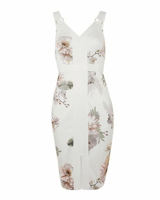 Ted Baker Haarlow Woodland Bodycon Dress