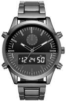 Mossimo Men's Analog Digital Bracelet Watch Gunmetal/Black