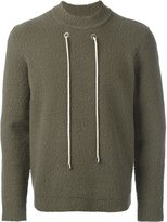 Craig Green contrast drawstring sweatshirt