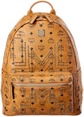 MCM Stark In Gunta M Studs Medium Backpack
