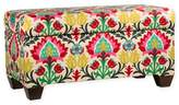 Skyline Furniture Aiden Storage Bench in Desert Flower