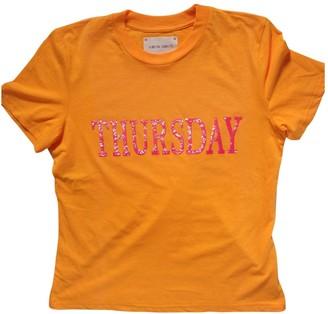 Alberta Ferretti Orange Top for Women