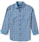 Tommy Bahama Short-Sleeve Copatana Plaid Woven Shirt